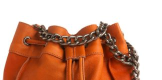 Upper Haight genuine leather shoulder bag