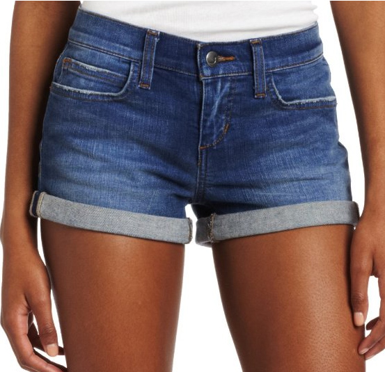 Blue Jean Shorts For Women - The Else