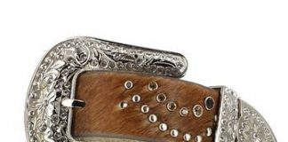 Nocona Cheetah Print Belt