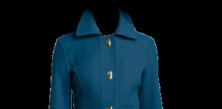 Jessica Simpson Women's Single-Breasted Walker Length Coat