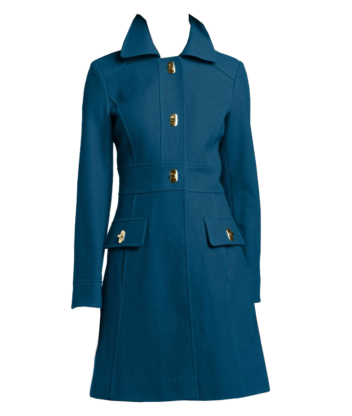 Jessica Simpson Women's Single-Breasted Walker Length Coat