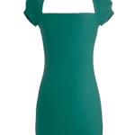 ModCloth Sleek It Out Dress in Jade