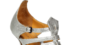 EDMUNDO CASTILLO Silver Metal Sandals
