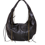 Zambos & Siega Faux Izzy Bag in Black via couture Candy