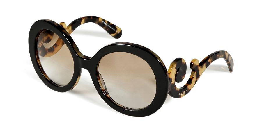 Prada Acetate Baroque Gradient Sunglasses