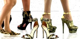 how to wear camouflage shoes