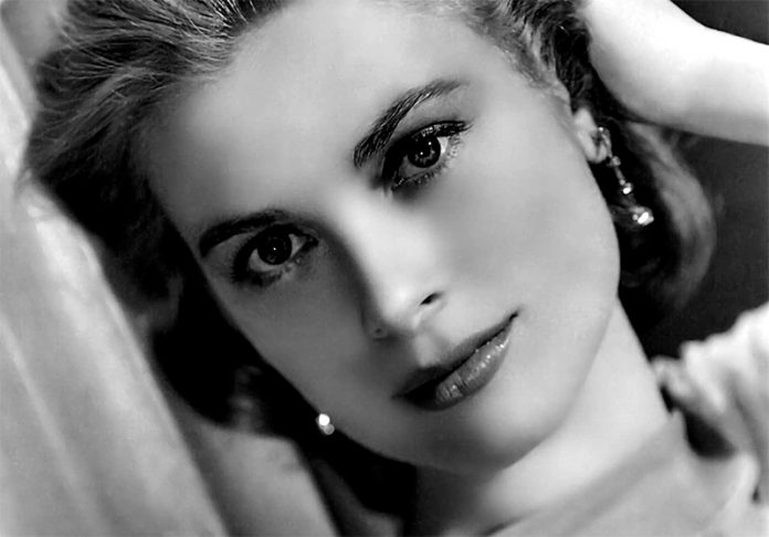 Grace Kelly in Studio publicity portrait for the film High Society