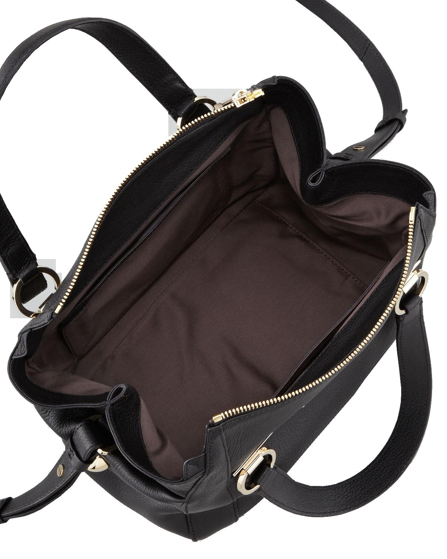 Chloe Red Pebbled Leather Bridget Shoulder Bag 68