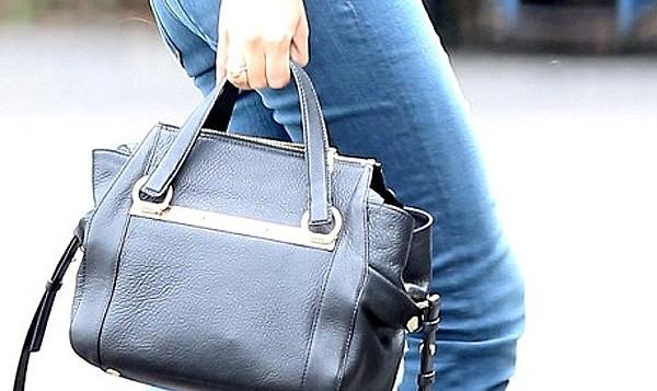 Chloe Red Pebbled Leather Bridget Shoulder Bag 80