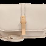 Marc by Marc Jacobs dark cream light sand Leather Small Crossbody Bag