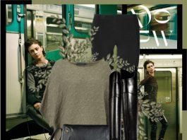 Ralph Lauren olive sweater black leggings over knee leather boots