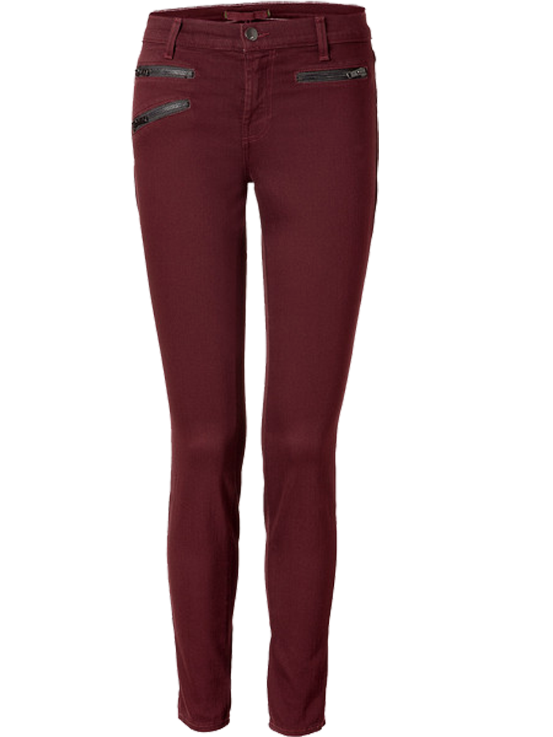 Wearing a leopard print shirt with burgundy skinny jeans - My ...