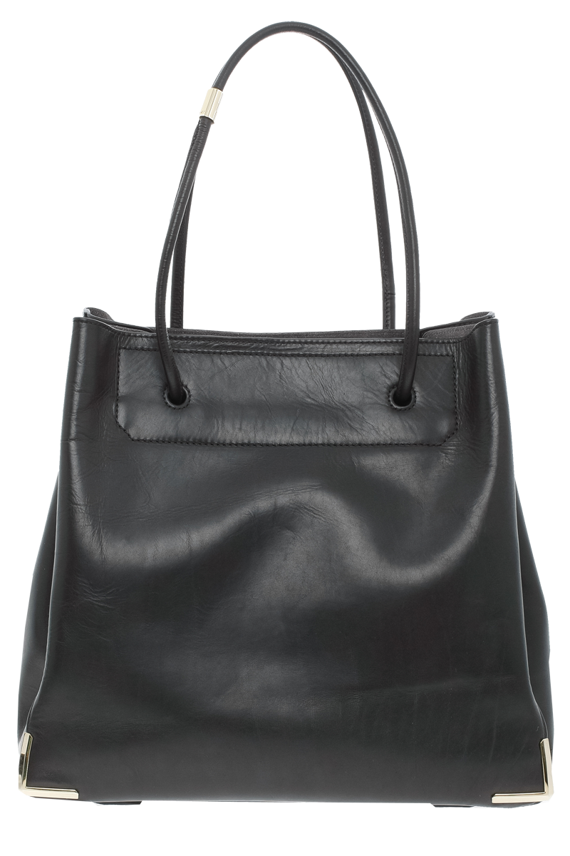 Alexander Wang black leather Prisma Skeletal Tote