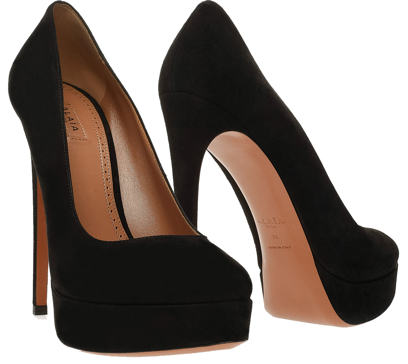 cheap good selling quality free shipping Alaïa Platform Suede Pumps cheap price discount authentic PuLfb3cBW5