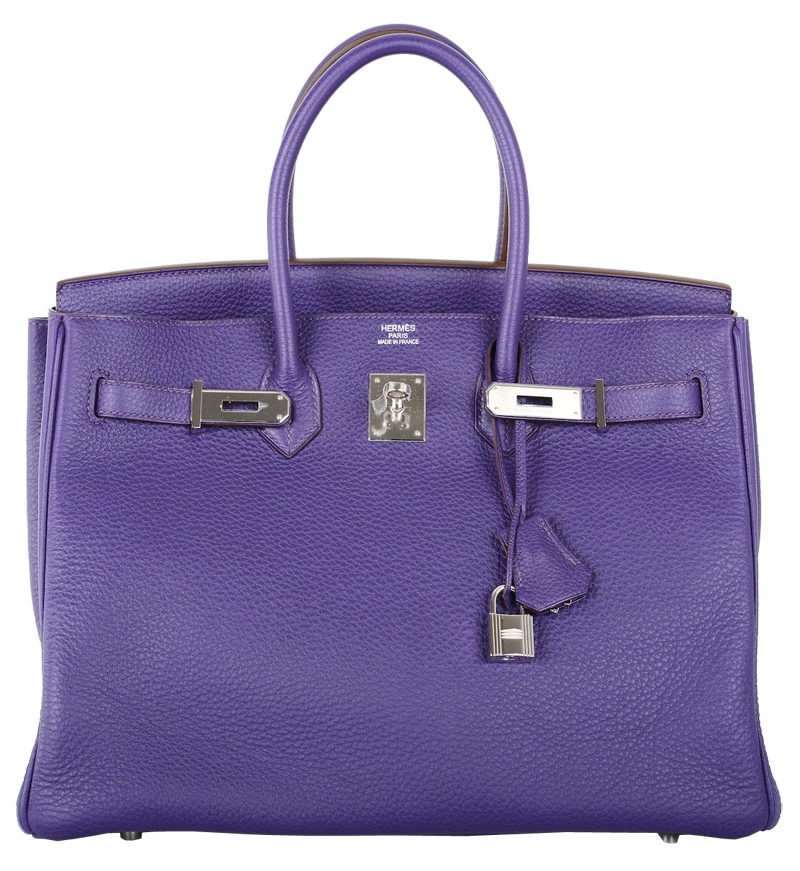 Hermes Iris Togo Leather 35cm Birkin Bag