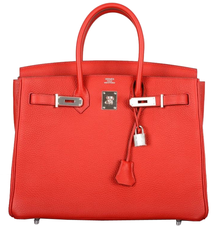Hermes Rouge Casaque Red Togo Leather 35cm Birkin Bag