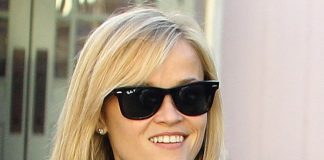 Is Reese Witherspoon too old to wear a short leather skirt