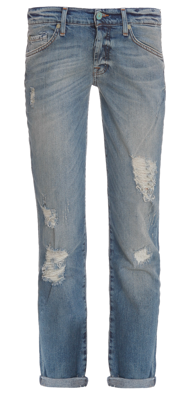 7 FOR ALL MANKIND Josafina Distressed Boyfriend jeans