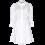 Acne Studios white Dee cotton shirt dress