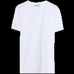 Balenciaga white cotton basic t-shirt