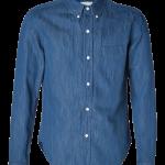 Band of Outsiders Blue Denim Shirt