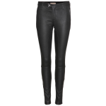Burberry Brit black leather trousers