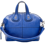 Givenchy Royal Blue Leather Nightingale Shoulder Bag