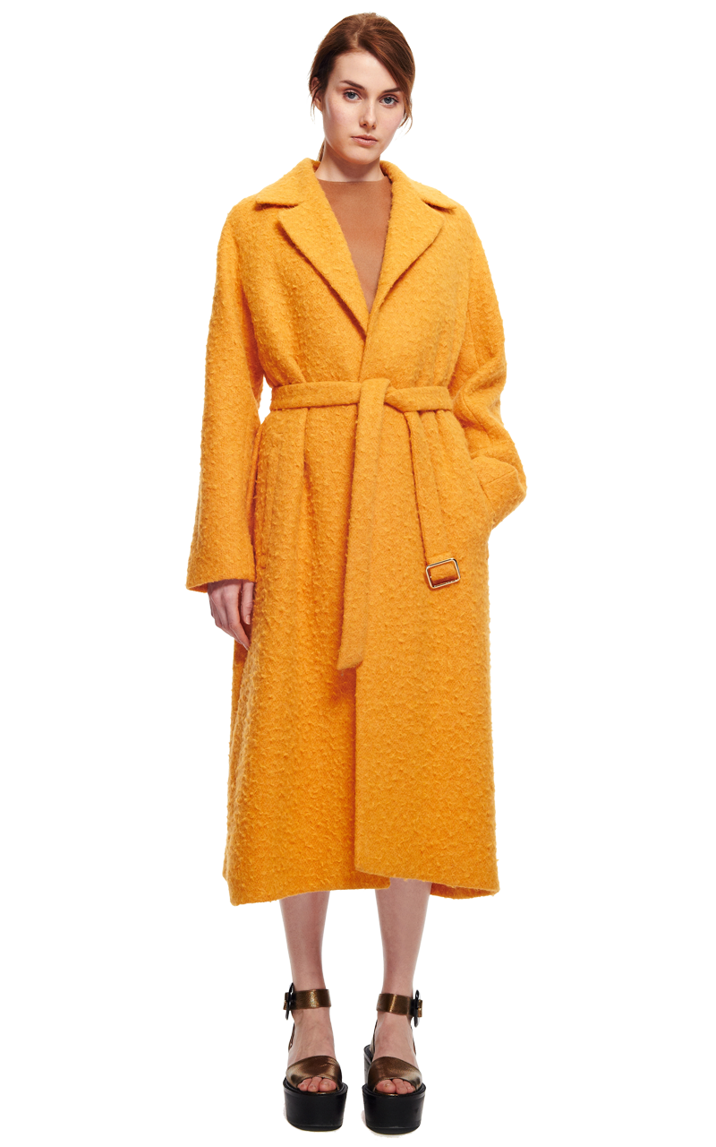 Light casentino Rochas wrap coat