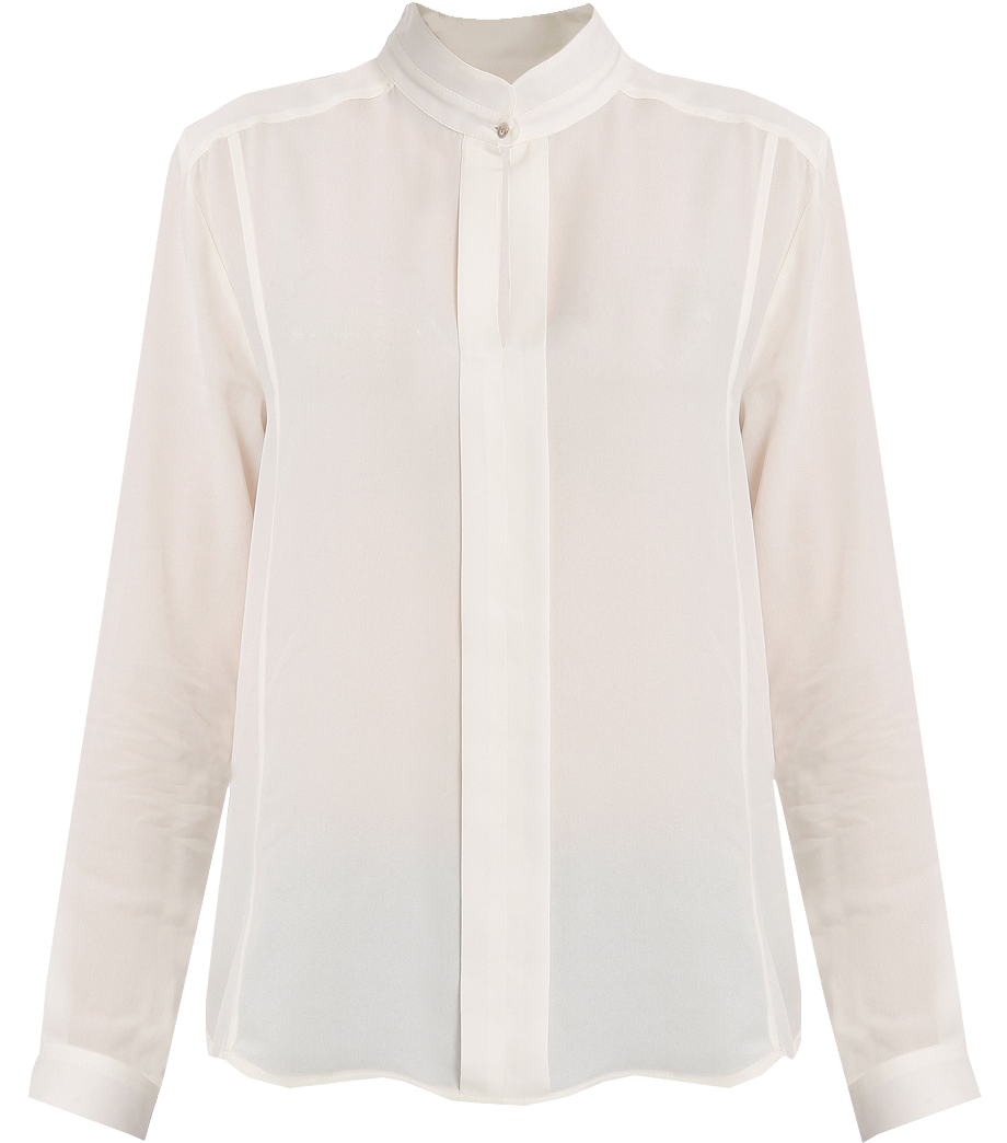 how to clean white silk