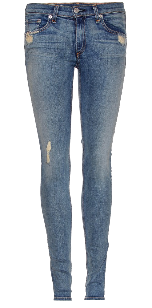 Rag & Bone Jean the blue skinny jean