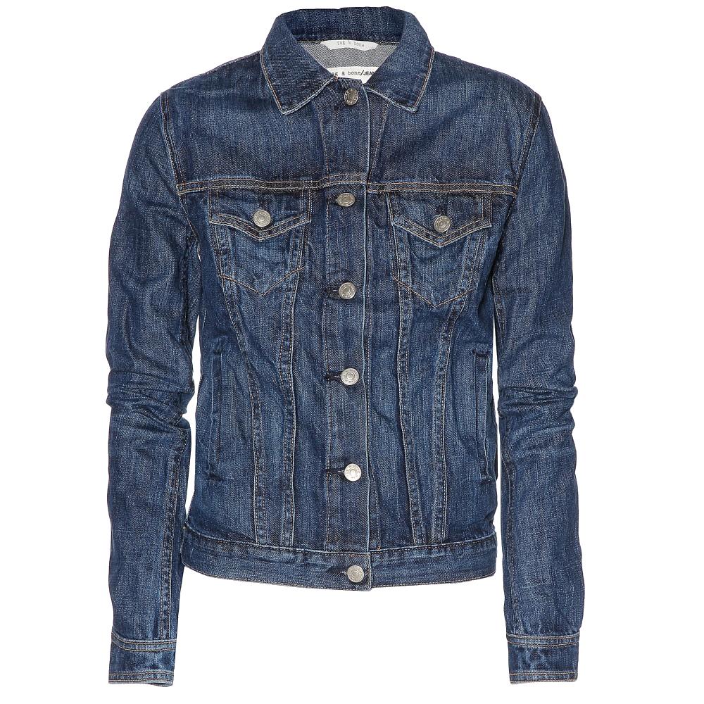 Rag-Bone Medium Indigo The Jean denim jacket - My Fashion Wants