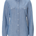 SEE BY CHLOE Light Denim Blue Cotton Shirt
