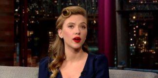 Scarlett Johansson David Letterman