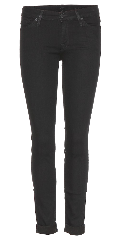 Seven For All Mankind ultra skinny black jeans