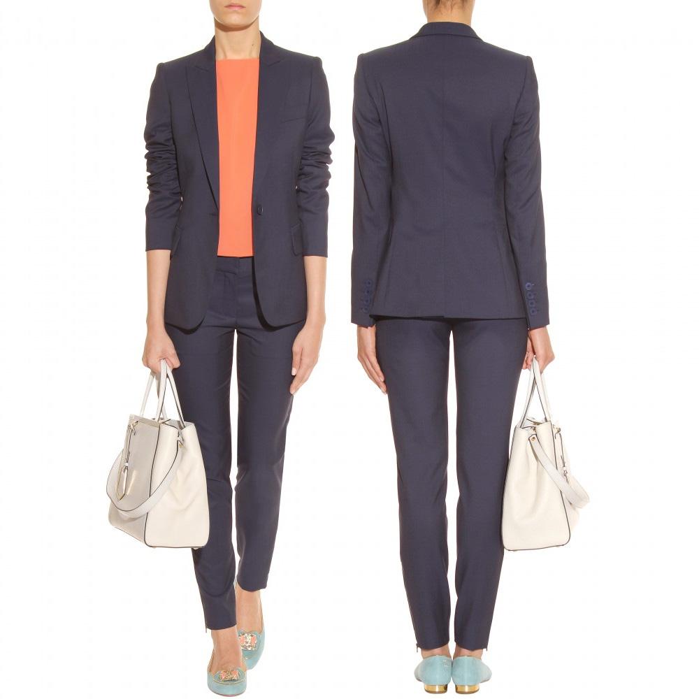 Stella McCartney marine blue tailored blazer