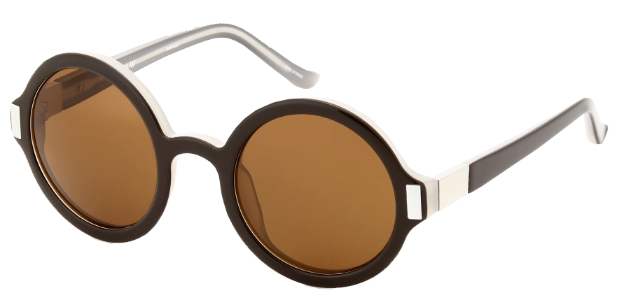 The Row oversized brown lenses The Row 63 sunglasses