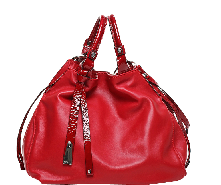Francesco Biasia Angie Calf Leather Bucket Bag