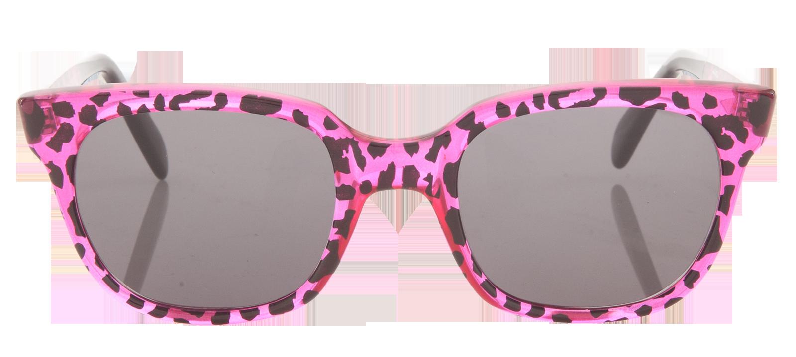 Sheriff and Cherry Wildcat Fuxia Sunglasses Tortoiseshell frame