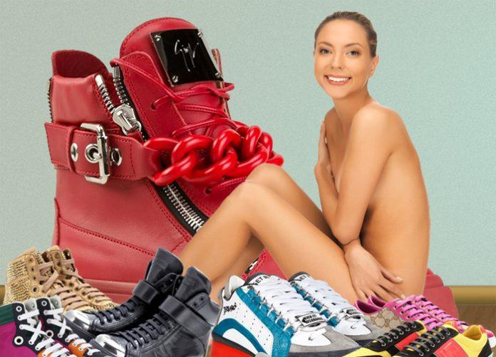 Dreaming of designer sneakers