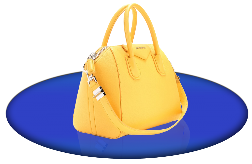 Givenchy honey yellow Antigona Small leather tote bag