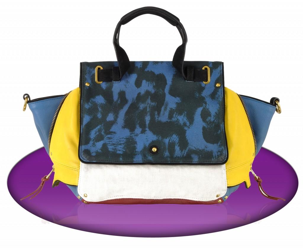 Jerome Dreyfuss Johan Caviar Mondrian designer handbag