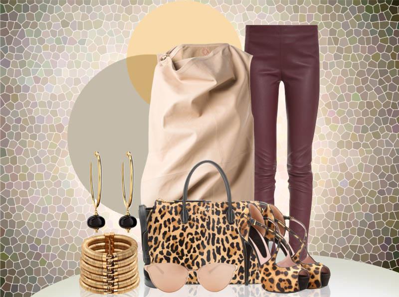 Animal print bags - Miu Miu Leopard-Printed Pony Hair Tote