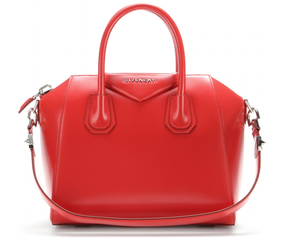 Givenchy Antigona medium red leather bag