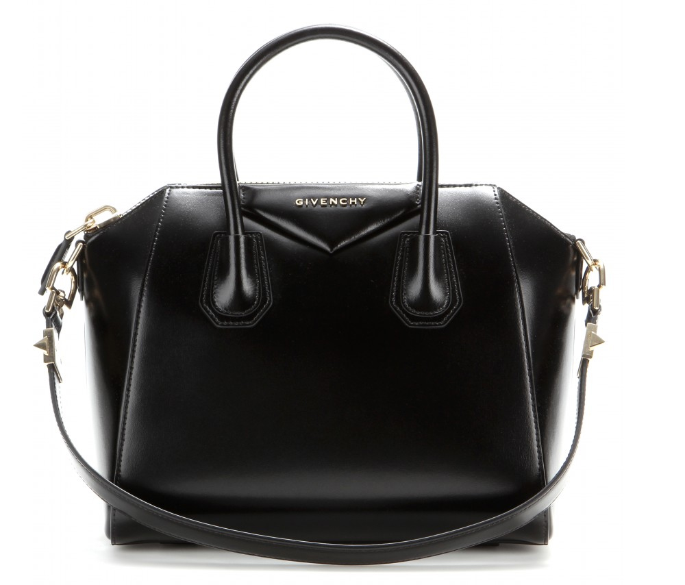 Givenchy Antigona small black leather tote bag