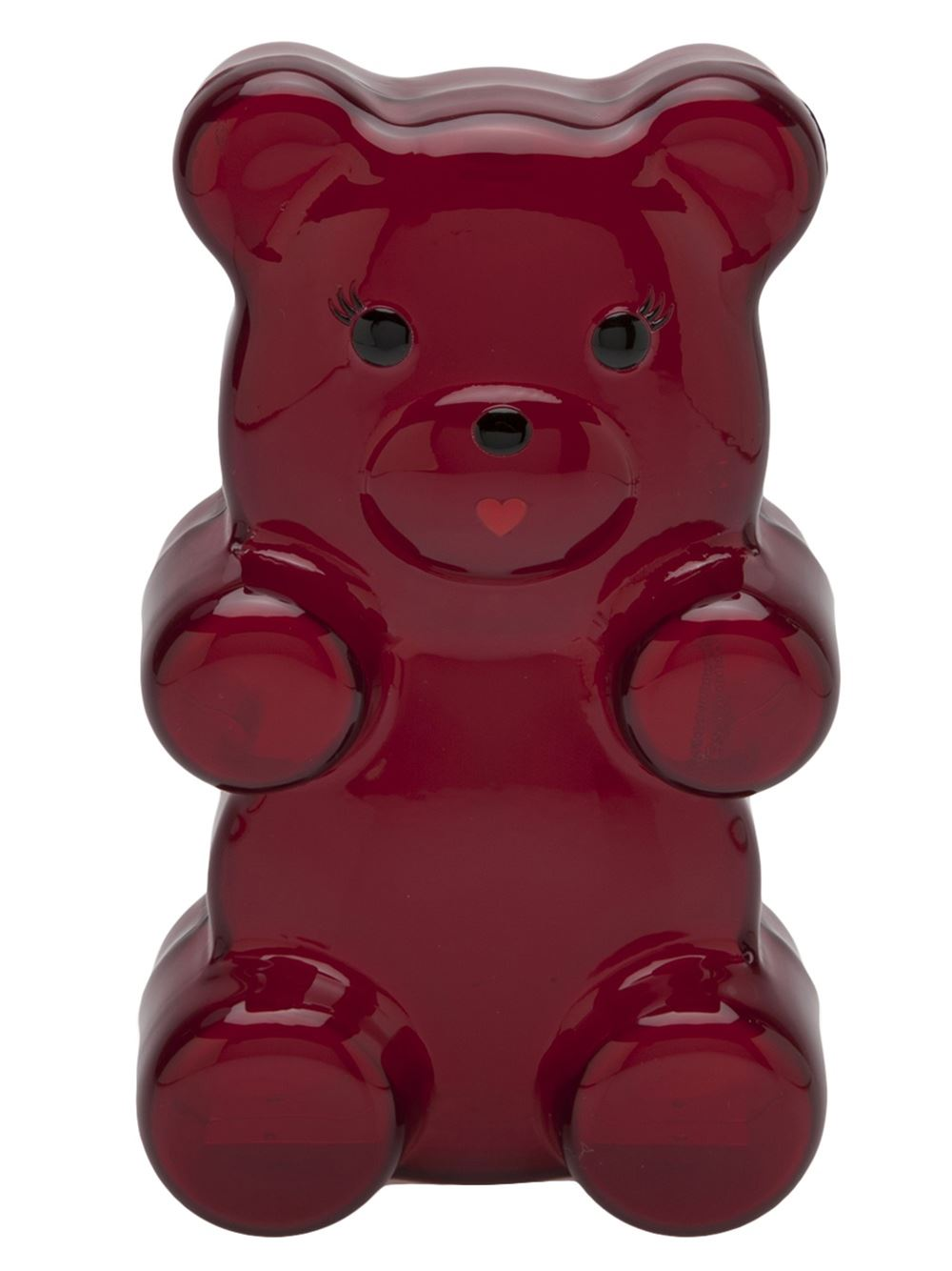 Red Gummi Bear clutch from Charlotte Olympia