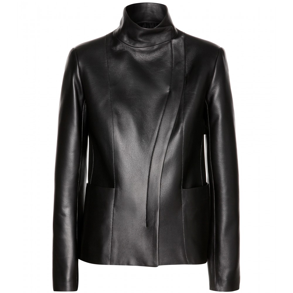 Where can i buy a black leather jacket