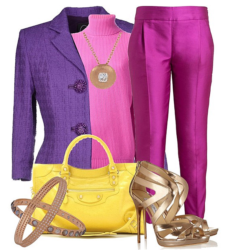 What Colors Go Well With The Color Purple My Fashion Wants