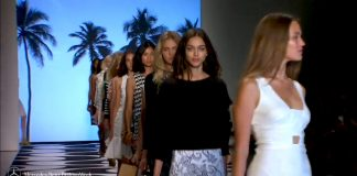 Nicole Miller Mercedes Benz New York Fashion Week SS15 collection
