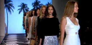 Nicole Miller Mercedes Benz New York Fashion Week SS15 collection