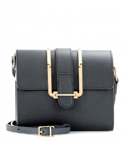 Chloé Bronte Small Textured-leather Shoulder Bag